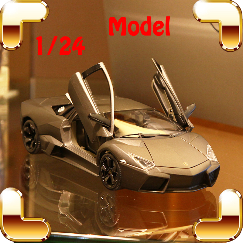 Christmas Gift LAM Series 1/24 Alloy Model Car Racing Die-cast Vehicle Scale Metal Decoration Toy Diecast Collection Boy Present siku die cast metal model simulation toy 1 32 scale ropa beet harvester educational car for children s gift or collection big