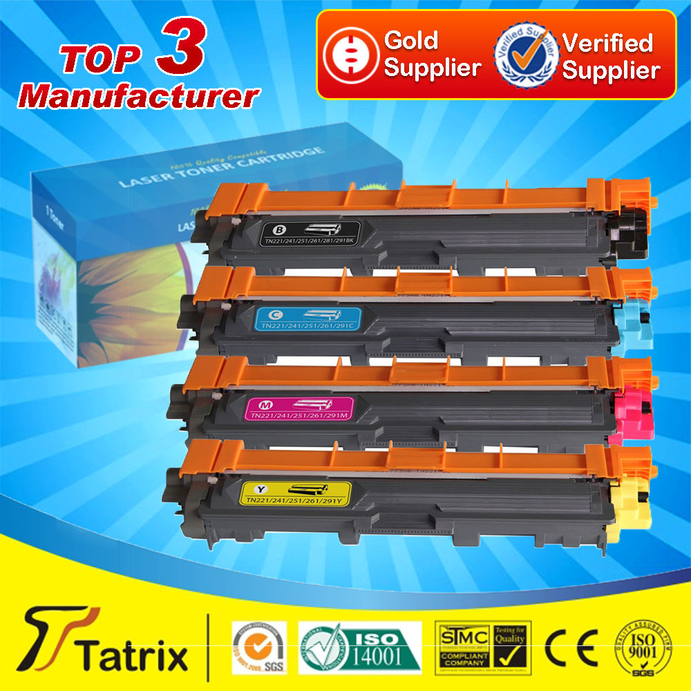 Подробнее о Compatible Color Toner Cartridge for Brother TN221 / TN241/ TN251/ TN261/ TN281/ TN291 for MFC9130/9140CDN/MFC9330/9340CDW compatible color toner cartridge for brother tn221 tn241 tn251 tn261 tn281 tn291 for mfc9130 9140cdn mfc9330 9340cdw