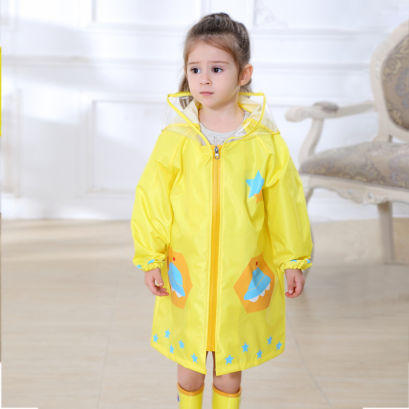 Dziecięcy płaszcz przeciwdeszczowy Fashion Cartoon Waterproof Boy - Ubrania dziecięce - Zdjęcie 2