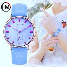 女性は新モデル太陽の下での色が変更でき女性腕時計女性時計のレロジオ Feminino