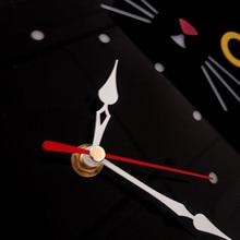 M.Sparkling Creative Cartoon Acrylic Wall Clock Kids Room 3D Quartz Wall Watch Cute Cat Colorful Wall Clocks Unique Home Decor