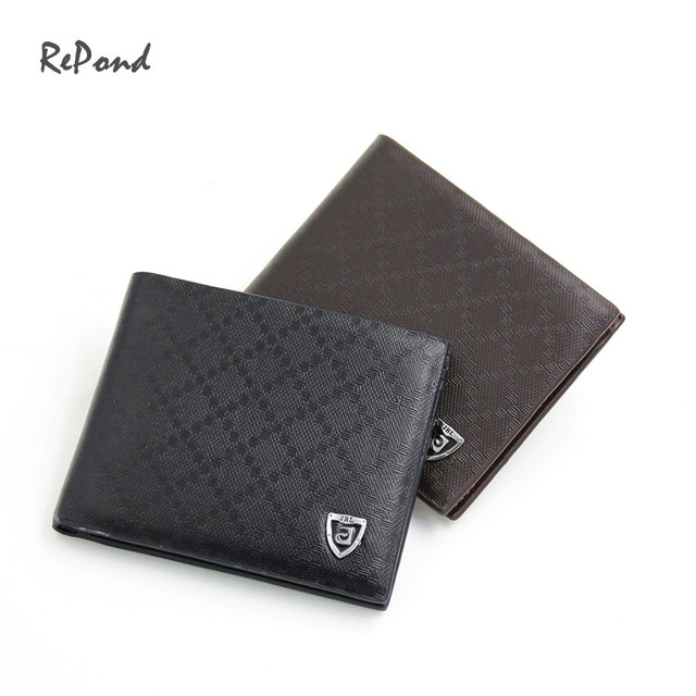 High quality DOT Pattern Leather Wallet