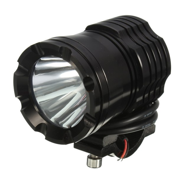 DC12V 15W 1200LM Motorcycle Car Boat LED White Light Spot/Flood Beam Offroad Led Light Driving Fog Lamp Headlight