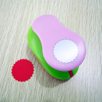 38mm 1 5 Wavy Hole Punch Paper Puncher Circle Scrapbooking Punches Cutter Scrapbook Shaped Punch Embossing