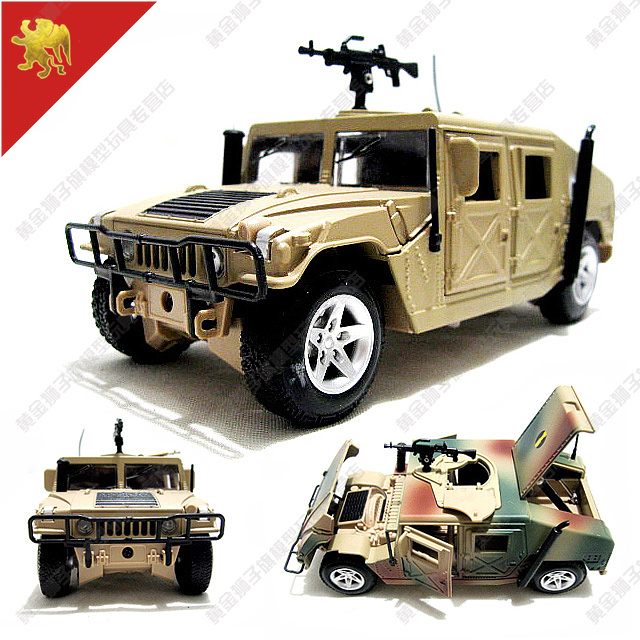 new american hummer h1 1:24 jeep off road military vehicle