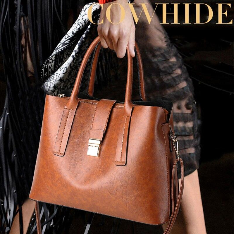 Qualità Di Messaggero Borse red Lusso Delle Spalla Grandi Glorria Alta Sacchetto Del Cuoio Femminile brown Sac Bag Bag Black Bag Dimensioni Grande Capacità Crossbody Donne 2019 5wqv0Zv