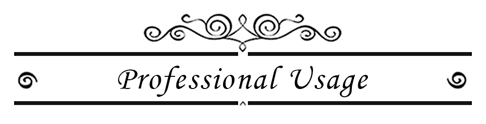 11 Professional Usage