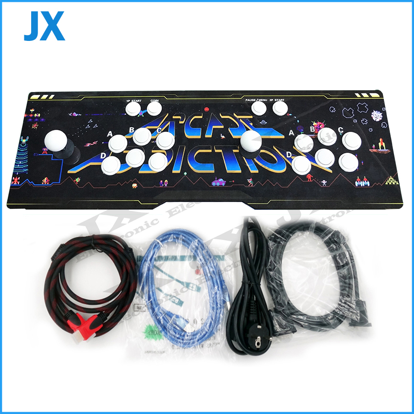 Video game TV jamma arcade game console box 6S 1388 in 1 games for PS3 2020 in 1 Heroes of Storm 5 VGA HDMI USB output can pause