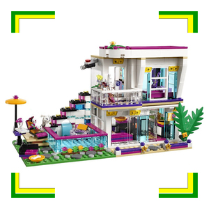 Image 2 - בניין בלוק 10498 תואם חברים ליווי של פופ כוכב בית 41135 אמה מיה דמות חינוכיים צעצוע לילדים