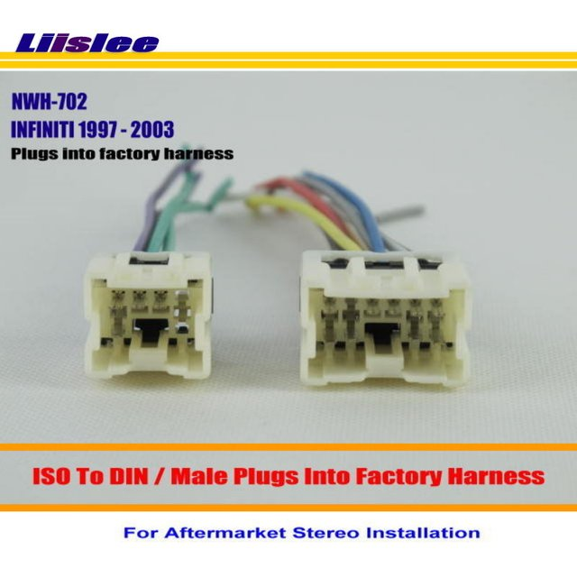Liislee Car Wire For INFINITI G20 I30 Q45 QX4 / Car Stereo Adapter