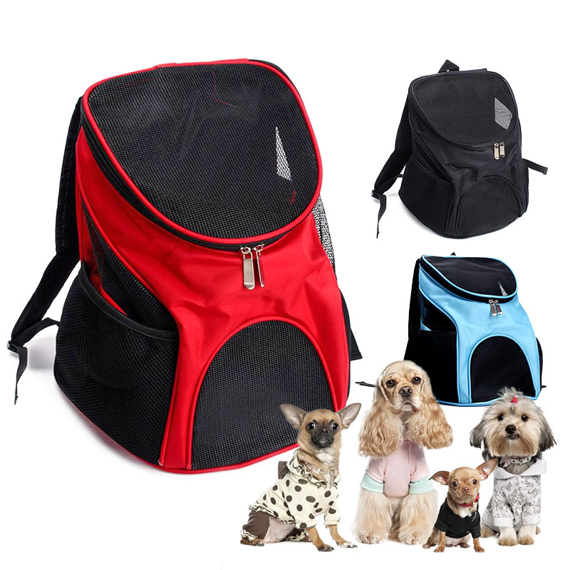 02636d276f Pet Carrier Bag Dog Cat Puppy Travel Double Shoulder Backpacks Sport Travel  Outdoor Pet Carrier Bag For Pets Front Bag Head Out