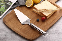 1PC 410 Stainless Steel Fried Shovel Spatula Steak Pizza Grasping Cutters Spade Pastry BBQ Tools Kitchen Utensils PB 008