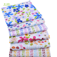 6pcs/lot,Twill Cotton Fabric Patchwork Floral Tissue Cloth Of Handmade DIY Quilting Sewing Baby&Children Sheets Dress Material(China)