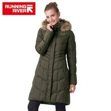 RIVIÈRE qui COULE Marque Femmes Veste de Ski Chaud Ski Neige Vestes Vente Chaude Haute Qualité Femme Sports de Plein Air Manteau # L4993