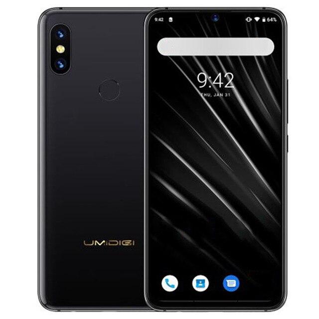 """UMIDIGI S3 PRO Android 9,0 de la cámara del teléfono móvil 5150 mAh de gran potencia 128 GB 6 GB 6,3 """"FHD + NFC de cerámica mundial bandas Smartphone"""