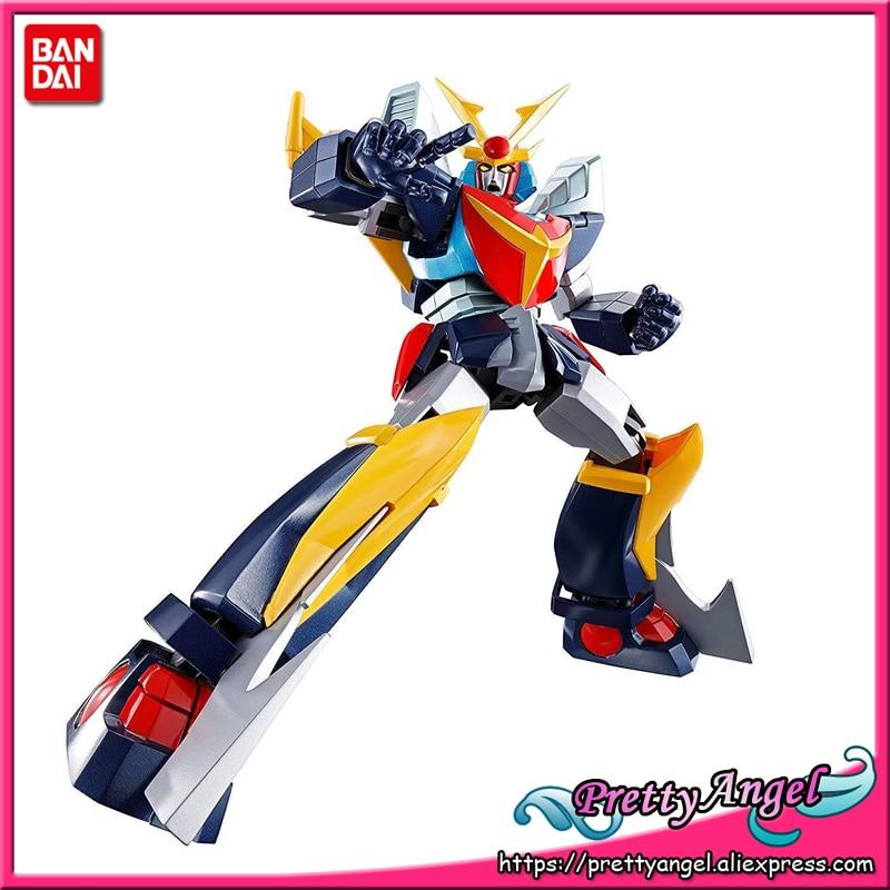 PrettyAngel Genuine BANDAI SPIRITS Tamashii Nations Soul of Chogokin GX 82 Invincible Steel Man Daitarn 3