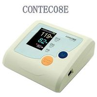 New,Color LCD CONTEC08E Arm Digitl Blood Pressure Monitor Sphygmomanometer,NIBP