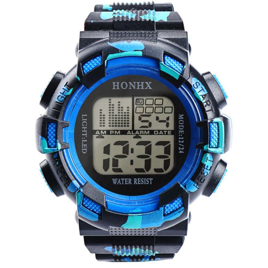 Μόδα ανδρών ψηφιακή LED αναλογικό - Ανδρικά ρολόγια - Φωτογραφία 4