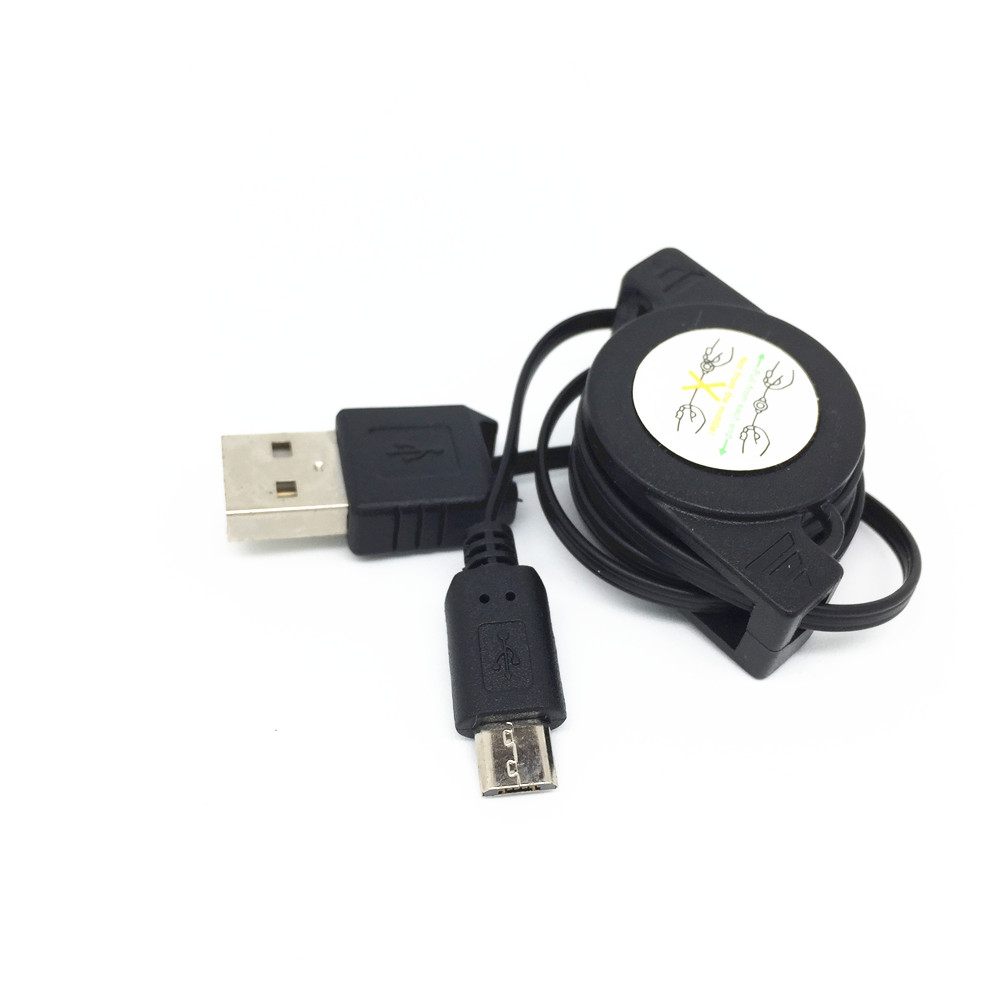 Retractable Micro Usb Data Sync Charger Cable For Htc G17 Evo 3d T327t S710d Incredible S A510e G13 Wildfire Surround S510 Choice Materials Mobile Phone Adapters Cellphones & Telecommunications