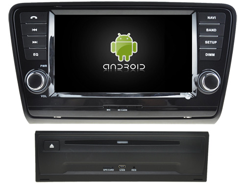 OTOJETA Android 8.0 voiture DVD octa Core 4 GB RAM 32 GB ROM IPS écran lecteur multimédia pour SKODA OCTAVIA II 2014 autoradio NAVI gps