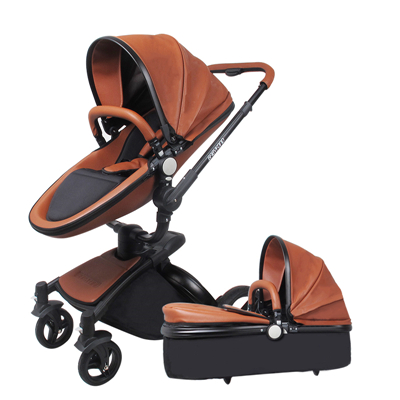 Babyfond baby strollers 3 in 1 EU high quality safety 2 in 1 baby strollers with car seat leather aluminium alloy frame 2017 special offer direct selling european baby strollers export brand baby strollers 2 in 1 carriage 3 with car seat