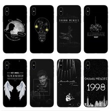 Canadian singer-songwriter Shawn Mendes Soft TPU silicone Phone Case Cover For iPhone 5 5S SE 6 6S Plus 7 8 X 10
