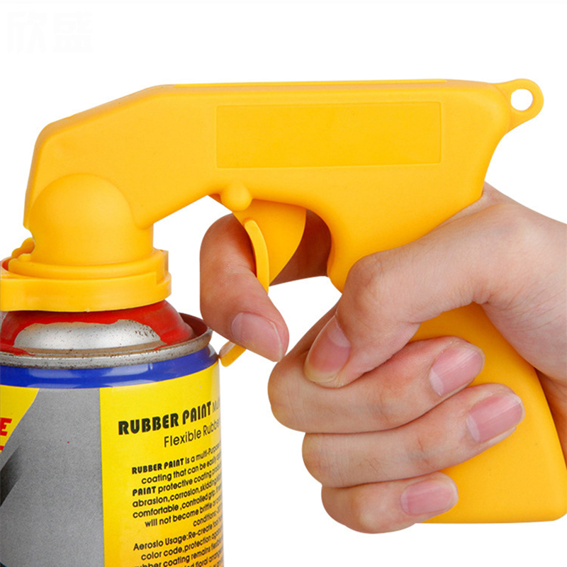 Spray-Adaptor Trigger Can-Handle Painting Full-Grip Car with for Simple