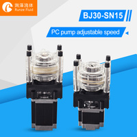 Anti Abrasive Peristaltic Dosing Pump Easy Loading Tubing Silicon/Parmed BPT
