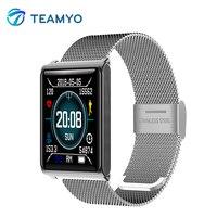 Teamyo Smart Watch Blood Pressure Measurement Fitness Tracker Waterproof Wristband Heart Rate Monitor Color Screen Smart Band