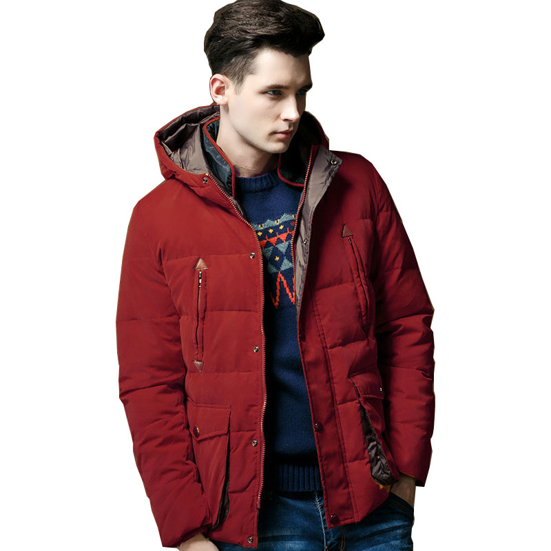 Winter Cotton Jacket Men New Coat Hooded Top Quality Brand Clothing Long Male 3 Colour 2016 men of new style fashion male hooded embroidery cotton quilted jacket down jacket coat