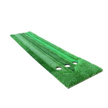 Tappetini Da Golf   2018 Nuovo Golf Putting Training Aids Verde Putter Altalena Mat Formazione Dispositivo Di Pratica Di Scala 3 Fori Nel Verde Di Trasporto Trasporto Libero