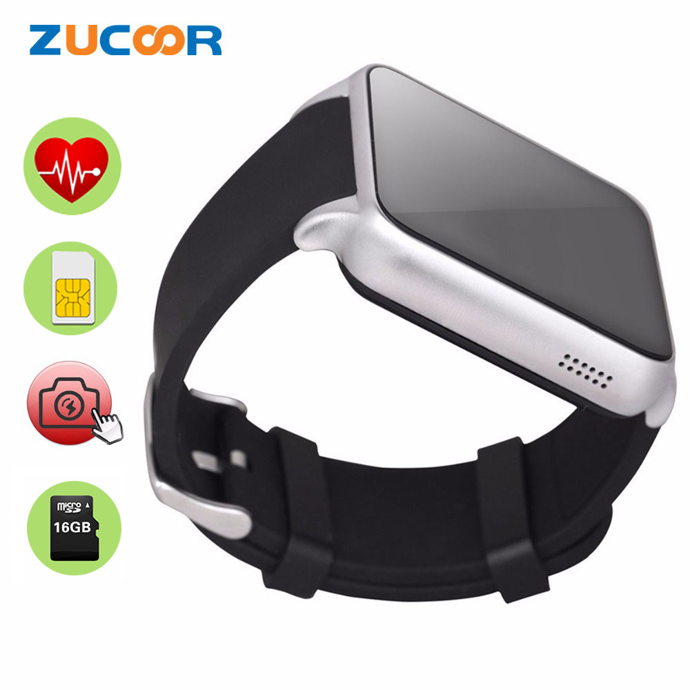 Smart Watch Pulse Wristwatch Heart Rate Monitor Support SIM TF/SD Card Phone Bluetooth NFC For iOS Android PK MF3 LF09 N10B Q18