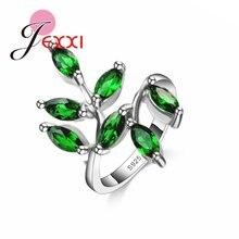 Красивые зеленые листья с aaa + австралийские Стразы для женщин/девушек