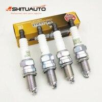 4pcs/set Original NGK IRIDIUM Spark Plug For Chevrolet Sail 1.2 1.4 2010 2014 OEM# 9002811