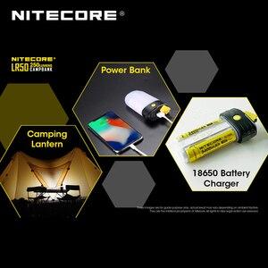 Image 4 - 3 em 1 nitecore lr50 campbank como power bank + lanterna de acampamento + carregador de bateria