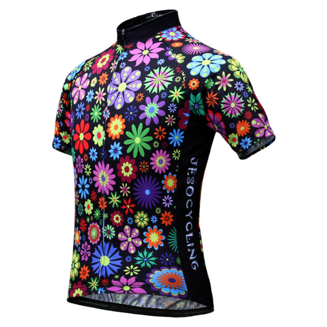 2018 Summer Women's Cycling Jersey Quick-Dry Short Sleeve Cycling Clothing Cycle Wear With Full Length Zipper Free Shipping