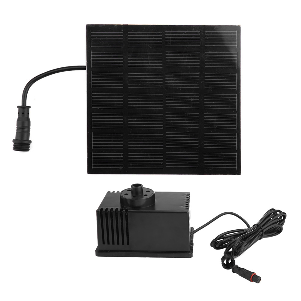 Solar Water Panel Power Fountain Pump Kit Pool Garden Pond Watering Submersible DV7V 1.5W w/  Quality стоимость