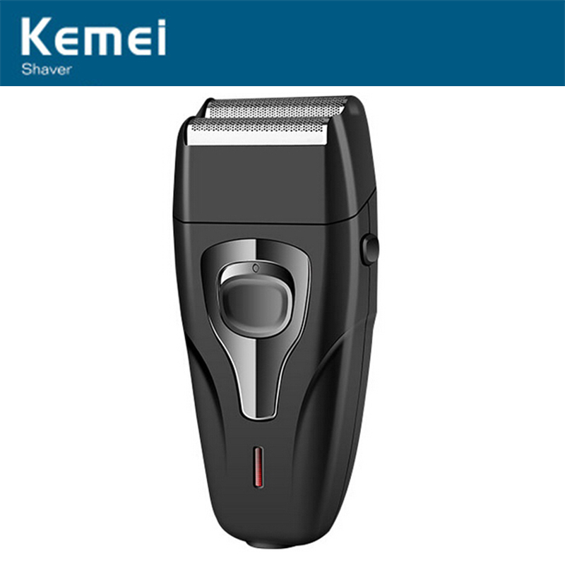 Kemei KM-1103 Electric Rechargeable Reciprocate Man Shaver Reciprocating Face Razor Blade Electric Shaving Razors Face Care kemei km 1720 rechargeable reciprocating cordless blade electric razor shaver for men shaving machine face care eu plug