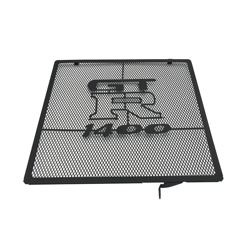 Motorcycle Stainless steel Grille Radiator Shield Guard Protector Cover For Kawasaki gtr1400 gtr 1400 2006 2018