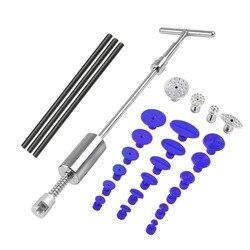 PDR Tools paintless Dent Repair Dent Puller Kit Dent removal Slide Hammer glue sticks Reverse Hammer Glue Tabs for Hail Damage