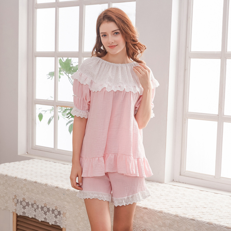 Maternity Sleepwear Short Pant Sets Summer Home Wear Breastfeeding Clothes Pajamas Sets Pregnant Women Short Sleeve Nightwear long sleeve cartoon bear thick flannel maternity clothing pajamas sets breast feeding home wear nightwear factory price