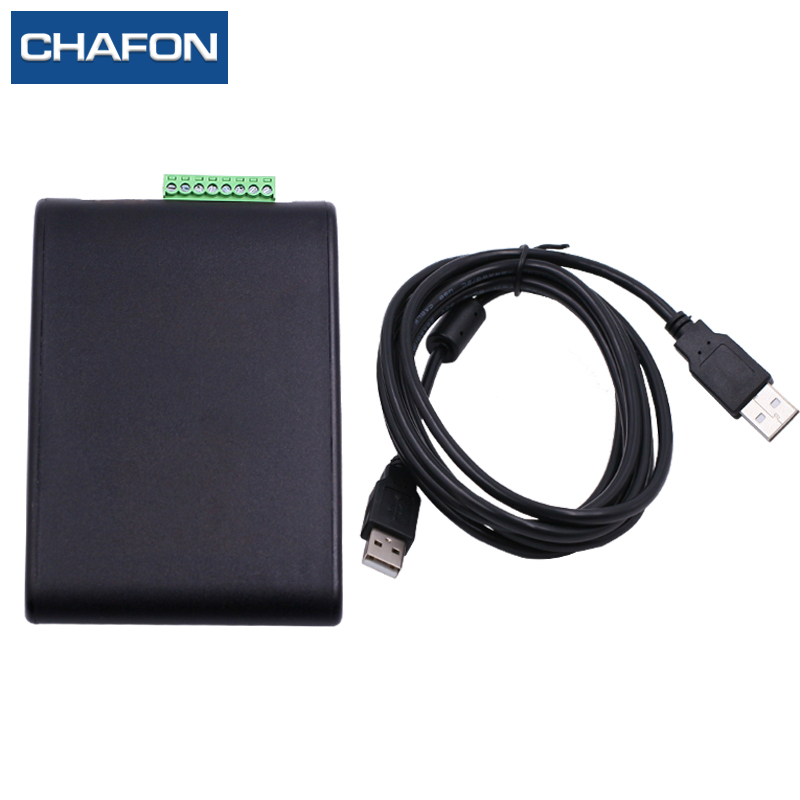 CHAFON uhf rfid desktop reader and writer with usb interface 0~1m read range for access control systemCHAFON uhf rfid desktop reader and writer with usb interface 0~1m read range for access control system