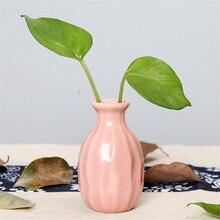 Европейский розовый бриллиант Современная фарфоровая ваза керамическая мода цветочный горшок Кабинет Коридор свадебное украшение дома W30606