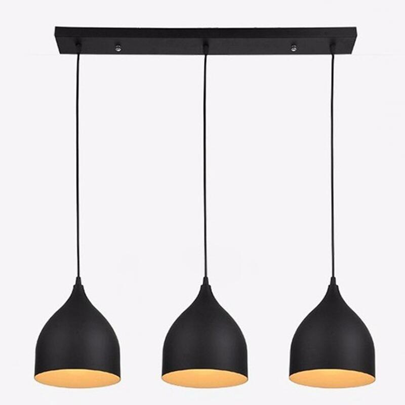 Modern 3 Pendant Lights Kitchen Modern Pendant Lighting Fixtures Kitchen Island Dining Room Hanging Lamp Hanglamp Luminaire