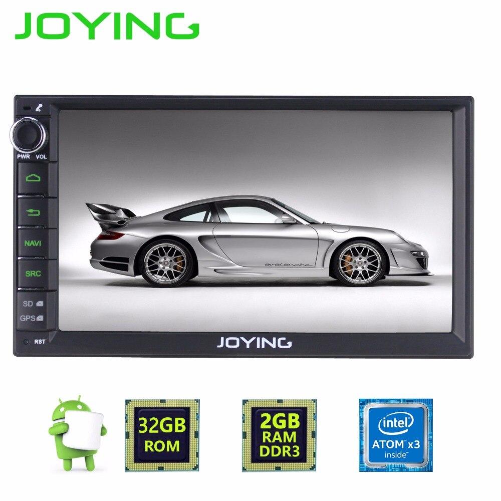 JOYING 7 Car Stereo 2GB RAM 32GB ROM Audio Cheap Double Din Car Head Unit Multi
