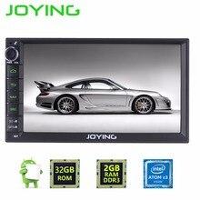 """JOYING 7 """"Estéreo del coche de 2 GB RAM + 32 GB ROM Audio Barato Doble Din Jefe Unidad de coches Reproductor multimedia Para la Mayoría de Toyota Nissan Kia Honda"""