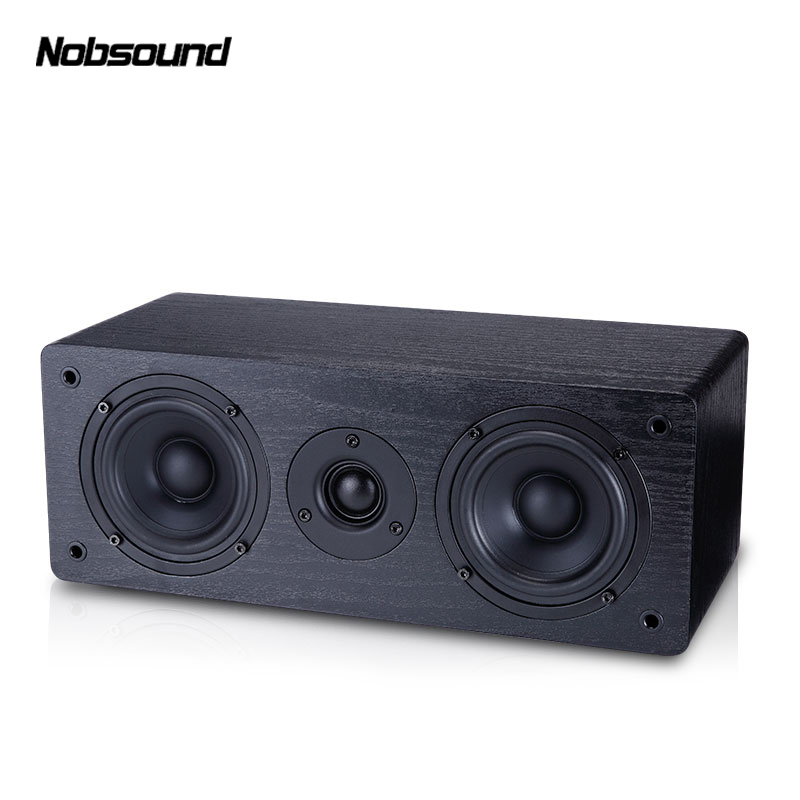 Nobsound NS-60C Wood 70W 4 inches Portable Speakers HiFi Column Sound Home Professional speaker ty94086dh atm38 3 0 automotive computer board