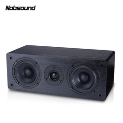 Nobsound NS-60C Wood 70W 4 inches Portable Speakers HiFi Column Sound Home Professional speaker