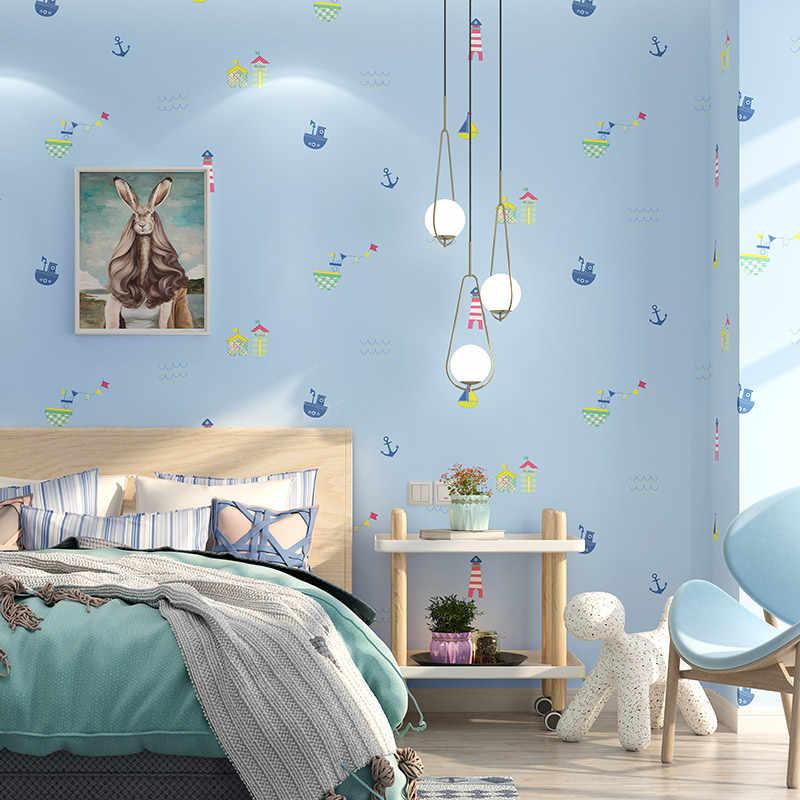 Mediterranean Cute Cartoon Wall Papers for Kids Boy Girls ...