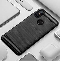 Telefoon Case Voor Xiaomi Mi A2 6X Mi6X MiA2 Een 2 6 X Xiaomi6X XiaomiA2 Siliconen Robuuste Armor Soft Fiber cover Carbon Fundas Coque